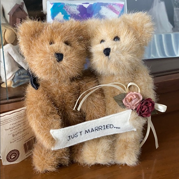 "Boyd's Bears ""Just Married"""